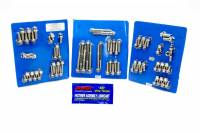 Engine Bolts & Fasteners - Engine Fastener Kits - ARP - ARP Pontiac Stainless Steel Complete Engine Fastener Kit - 12pt