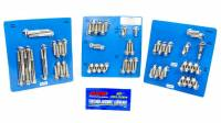 Engine Bolts & Fasteners - Engine Fastener Kits - ARP - ARP Pontiac Stainless Steel Complete Engine Fastener Kit - 6 Point