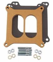 Air & Fuel System - Edelbrock - Edelbrock -4 Barrel Carburetor Spacer - Divided