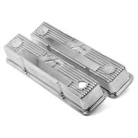 Holley Performance Products - Holley M/T Retro Aluminum Valve Covers SB Chevy - Image 3