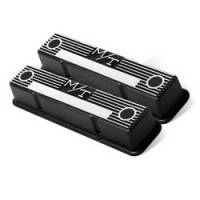Holley Performance Products - Holley M/T Retro Aluminum Valve Covers SB Chevy - Image 2