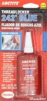 Oil, Fluids & Chemicals - Loctite - Loctite Threadlocker 242 Blue 36ml/1.22oz