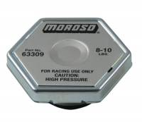 Sprint Car Radiators & Components - Radiator Caps & Hose - Moroso Performance Products - Moroso Racing Radiator Cap 8-10lbs.