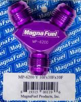 MagnaFuel - MagnaFuel Y-Fitting - 3 #10 AN Male - Image 1