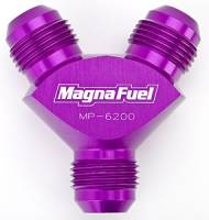 MagnaFuel - MagnaFuel Y-Fitting - 3 #10 AN Male - Image 2