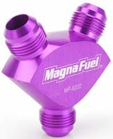MagnaFuel - MagnaFuel Y-Fitting - 1 #12 AN & 2 #12 AN - Image 2