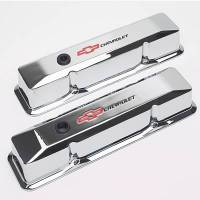 Proform Parts - Proform Die-Cast Valve Covers - Bow Tie Emblem - Chrome Plated - Image 3