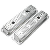 Trans-Dapt Performance - Trans-Dapt Chrome Plated Steel Valve Covers - Short Style - Image 2