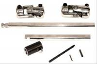 Unisteer Performance - Unisteer 1955-1957 Chevy Rack & Pinion Steering Shaft kit - Aftermarket Column -