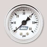 Cockpit & Interior - BBK Performance - BBK Performance Fuel Pressure Gauge Kit - Liquid Filled