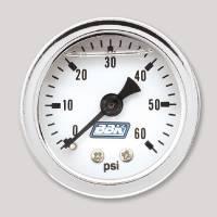 Cockpit & Interior - BBK Performance - BBK Performance Fuel Pressure Gauge Kit - Liquid Filled