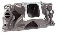 Intake Manifolds - SB Chevy - Brodix Intake Manifolds - SBC - BRODIX - Brodix Cylinder Heads SB Chevy High Velocity Intake Manifold - 4150 Dual Pln
