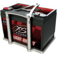 Battery Boxes, Trays and Components - Battery Trays - Billet Specialties - Billet Specialties Battery Mount - Polished - XS Power