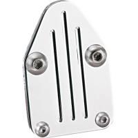Air & Fuel System - Billet Specialties - Billet Specialties Fuel Pump Block-Off Plate - Polished - SB Chevy