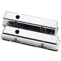 Billet Specialties - Billet Specialties SB Chevy Plain Valve Covers - SB Chevy - (Set of 2) - Image 3