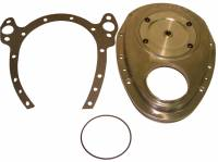 Valve Train Components - Timing Covers - Cloyes - Cloyes Aluminum Timing Cover - SB Chevy w/ BB Chevy Snout