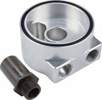 Engine Components - CVR Performance Products - CVR Performance Billet Aluminum Sandwich Oil Filter Mount Ford V8