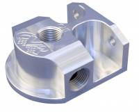 Engine Components - CVR Performance Products - CVR Performance Billet Aluminum Remote Oil Filter Mount GM