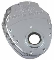 Engine Components - CVR Performance Products - CVR Performance SB Chevy Billet Timing CVR Performance 2-Piece - Clear Anodized