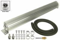 "Oil Cooler - Linear Oil Coolers - Derale Performance - Derale 2 Pass 24"" Heat Sink Transmission Cooler Kit"