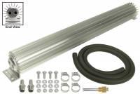 "Oil Cooler - Linear Oil Coolers - Derale Performance - Derale 2 Pass 24"" Heat Sink Transmission Cooler Kit"
