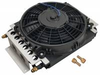 Drivetrain - Derale Performance - Derale 16 Pass Electra-Cool Remote Cooler, -6AN Inlets