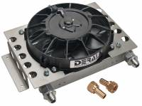 Drivetrain Components - Derale Performance - Derale 15 Row Atomic Cool Plate & Fin Remote Cooler, -8AN