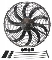 "Cooling & Heating - Derale Performance - Derale 14"" High Output Curved Blade Electric Puller Fan"