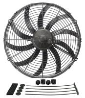 "Electric Fans - Derale Electric Fans - Derale Performance - Derale 16"" High Output Curved Blade Electric Puller Fan"