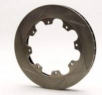 "AFCO Racing Brake Rotors - AFCO Pillar Vane Slotted Brake Rotors - AFCO Racing Products - AFCO Pillar Vane Slotted Rotor - 11.75"" x 1 .25"" - 8  Bolt -RH"