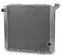 "Cooling & Heating - AFCO Racing Products - AFCO Lightweight Aluminum Radiator - 19"" x 22"" 3"" - Chevy"