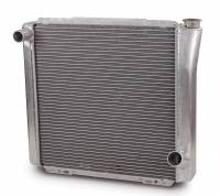 "AFCO Radiators - AFCO Chevy Style Radiators - AFCO Racing Products - AFCO Standard Aluminum Radiator - 19"" x 22"" x 3"" - Chevy"