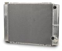 "Cooling & Heating - AFCO Racing Products - AFCO Double Pass Aluminum Radiator - 19"" x 27.5"" - 13.7 lbs."
