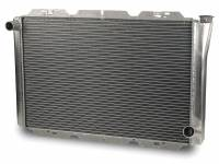 "AFCO Radiators - AFCO Chevy Style Radiators - AFCO Racing Products - AFCO Standard Aluminum Radiator - 19"" x 31"" x 3"" Chevy"