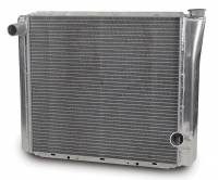 "AFCO Radiators - AFCO Chevy Style Radiators - AFCO Racing Products - AFCO Standard Aluminum Radiator - 19"" x 24"" x 3"" - Chevy"