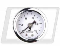 "Aeromotive - Aeromotive Fuel Pressure Gauge - 1-1/2"" Diameter - 0-15 PSI - Image 2"