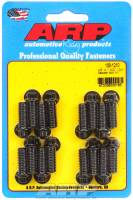 "Exhaust Hardware and Fasteners - Header Bolts - ARP - ARP Black Oxide Header Bolt Kit - 12-Point - 3/8"" x 1.00"" Under Head Length (16 Pieces)"