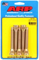 "Wheel Studs - 7/16""-20 Wheel Studs - ARP - ARP Wheel Stud Kit - 7/16- 20, 3.250"" Length, .580 Knurled Diameter - (5 Pack)"