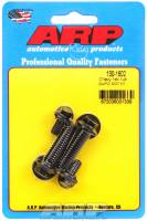 Air and Fuel System Fasteners - Fuel Pump Bolts - ARP - ARP Fuel Pump Bolts - Chromemoly - Black Oxide - Hex - BB Chevy, SB Chevy