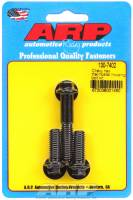 Engine Bolts & Fasteners - Thermostat Housing Bolts - ARP - ARP Black Oxide Thermostat Housing Bolt Kit - All Chevy V8 - 6 Point