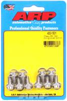 Engine Bolts & Fasteners - Timing Cover Bolts - ARP - ARP Stainless Steel Timing Cover Bolt Kit - 12-Point - BB Chevy, SB Chevy