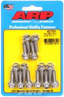 "Engine Hardware and Fasteners - Valve Cover Bolts - ARP - ARP Stainless Steel Valve Cover Bolt Kit - Stainless 12-Point - Cast Aluminum Covers - 1/4""-20 Thread - Set of 14"
