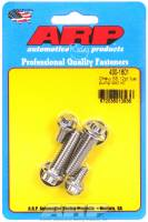 Air and Fuel System Fasteners - Fuel Pump Bolts - ARP - ARP Stainless Steel Fuel Pump Bolt Kit - 12-Point - BB Chevy, SB Chevy