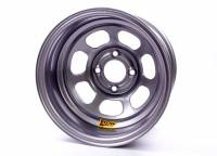 "Aero Race Wheel - Aero 30 Series Roll Formed Wheel - Silver - 13"" x 8"" - 2"" Offset - 4 x 4.25"" Bolt Circle - 16 lbs."