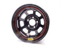 """Bassett IMCA D-Hole 15"""" x 8"""" - Bassett IMCA D-Hole 15"""" x 8"""" -5 x 4.75"""" (GM) - Bassett Racing Wheels - Bassett IMCA D-Hole Wheel - 15"""" x 8"""" - 5 x 4.75"""" - Black - 3"""" Back Spacing - 19 lbs."""
