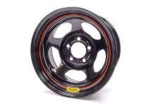 "Bassett Racing Wheels - Bassett Armor Edge Dirt Track Wheel - 15"" x 8"" - 5 x 5"" - Black - 4"" Back Spacing - 19 lbs."