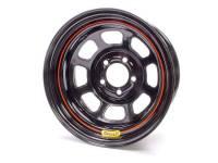 "Bassett Wheels - Bassett DOT Street Legal Wheels - Bassett Racing Wheels - Bassett DOT Street Legal Wheel - 15"" x 8"" - 5 x 4.5"" - Black - 4"" Back Spacing - 24 lbs."