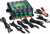 Battery - Battery Chargers - Battery Tender - Battery Tender 4-Bank International Charger - 12 Volts @ 1.25 Amps Per Station