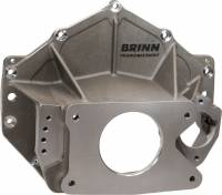 Brinn Incorporated - Brinn Chevrolet Magnesium Asphalt Bellhousing Assembly (Includes Idler Assembly) - Left Side Pump Mount - 11.2 lbs.