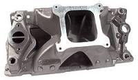 "Intake Manifolds - SB Chevy - Brodix Intake Manifolds - SBC - BRODIX - Brodix High Velocity Intake Manifold - SB Chevy - Open Plenum 4-BBL - Stock Intake Port Location. 6.225"" Height"